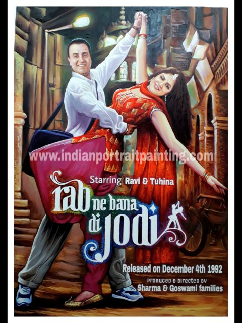Bespoke custom Bollywood film poster