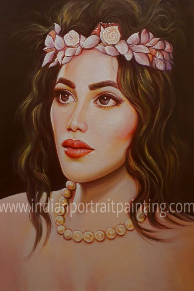 Convert cherish memories into hand painted portrait painting