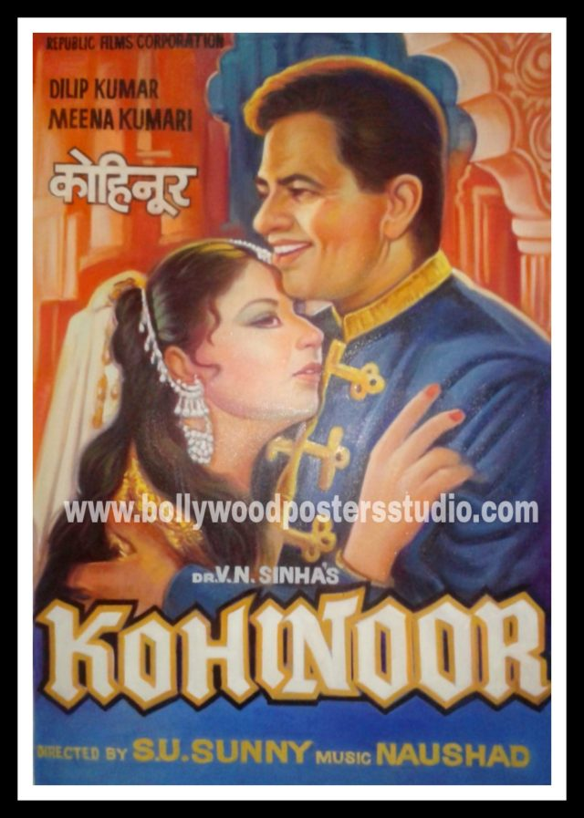 Custom made old classic hindi bollywood movie posters
