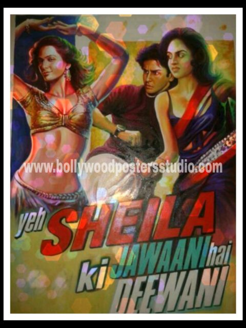 Customise Bollywood movie posters