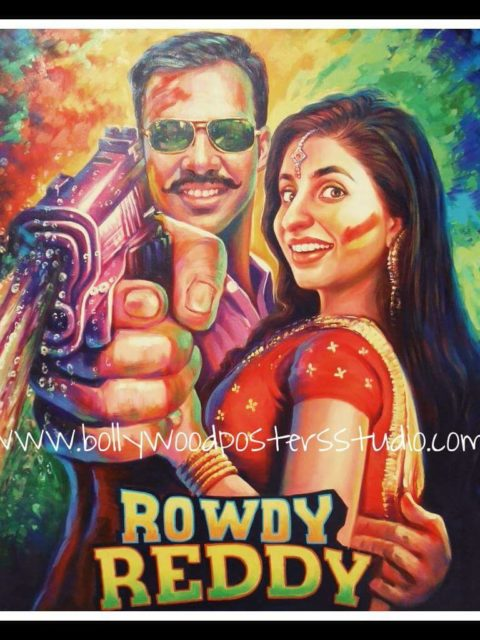 Handmade personal Bollywood movie posters
