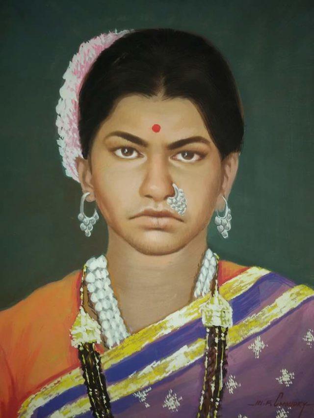 custom oil canvas portrait india