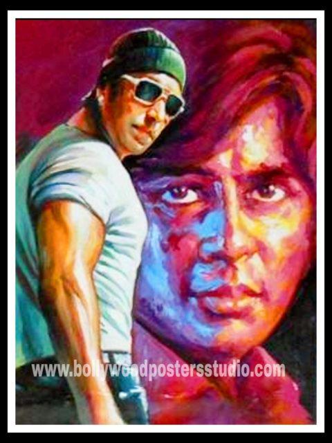 Knife art film fan Bollywood posters