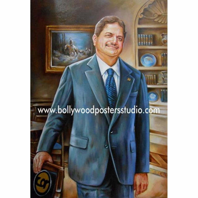 Custom oil canvas portrait painting collection