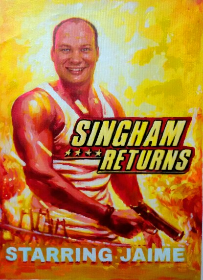 Edit image in custom bollywood posters online