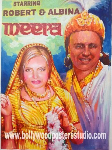Bollywood shaadi posters invitation