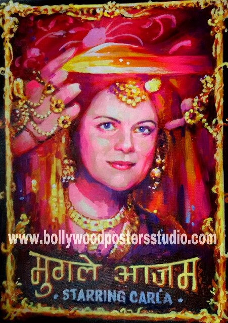 Customise bollywood poster maker