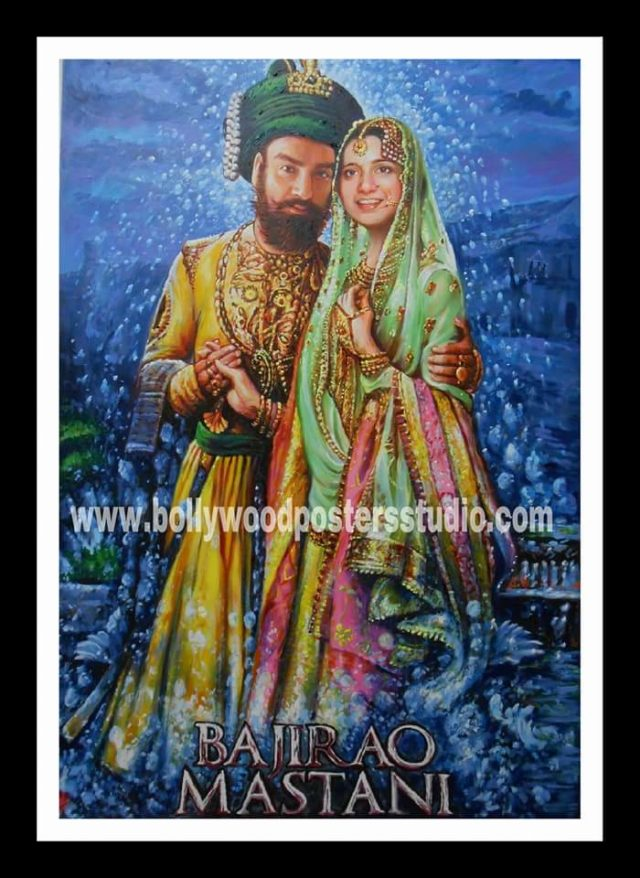 Customized Bollywood posters queries for best hand painted artist