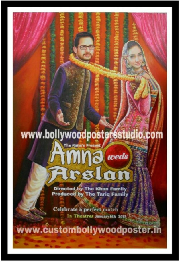 creative wedding invitation custom posters maker