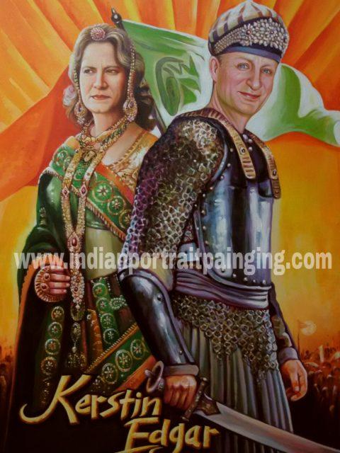 Jodha Akbar personal gift custom poster