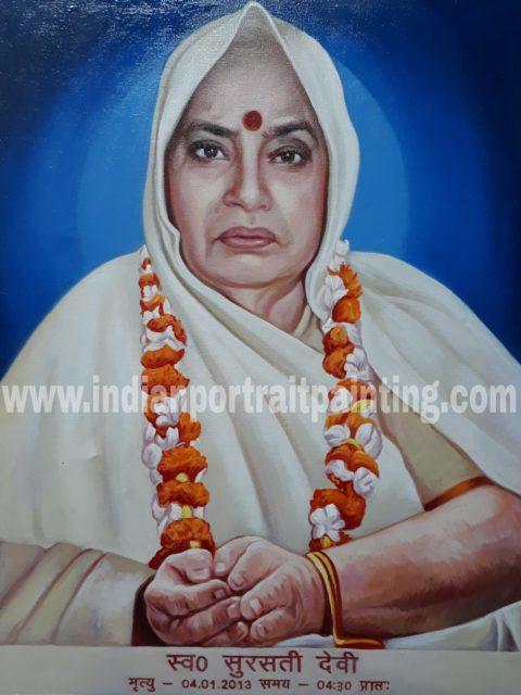 Indian portrait painter