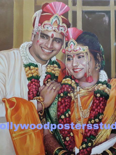 PORTRAITS - marriage / anniversary gifts mumbai online