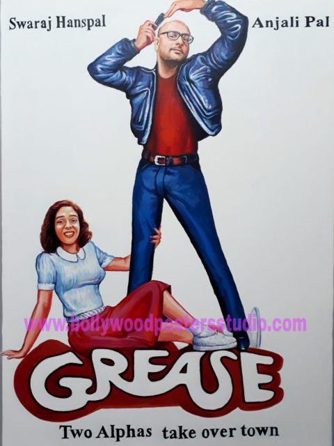 Custom hollywood posters in bollywood style