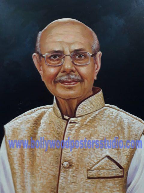 Original portrait painting