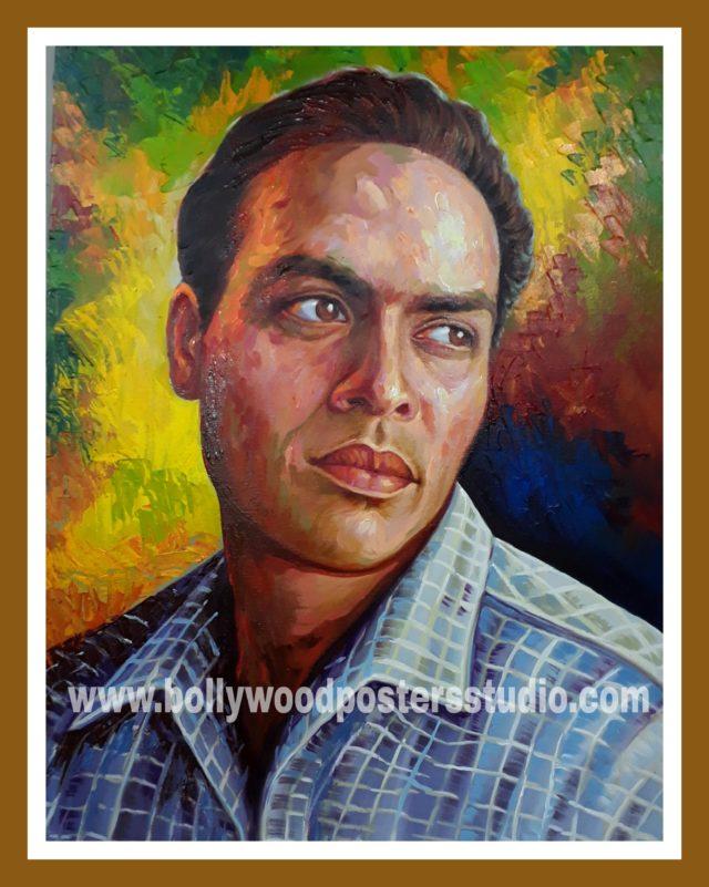 Convert photo to original canvas portrait