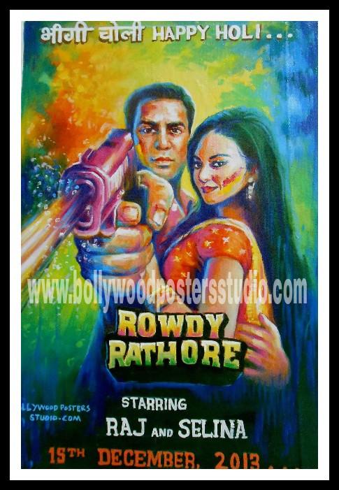 Custom Bollywood posters