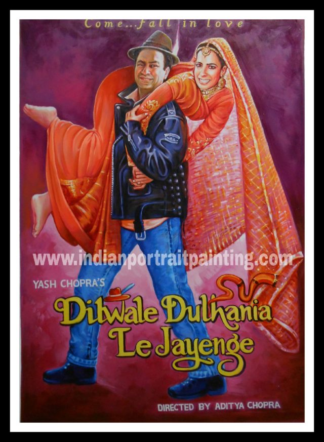 Hand made customized Bollywood posters