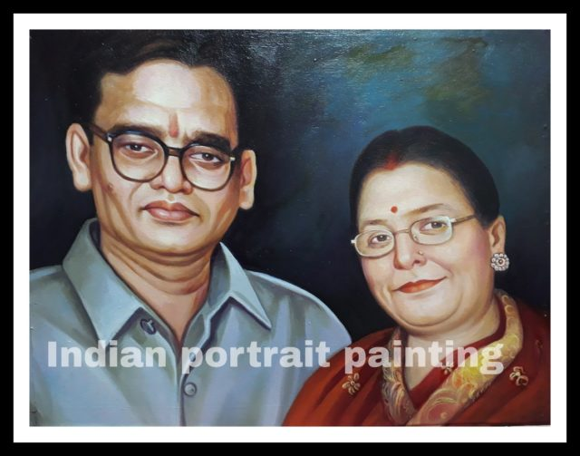 Image to canvas portrait for parents