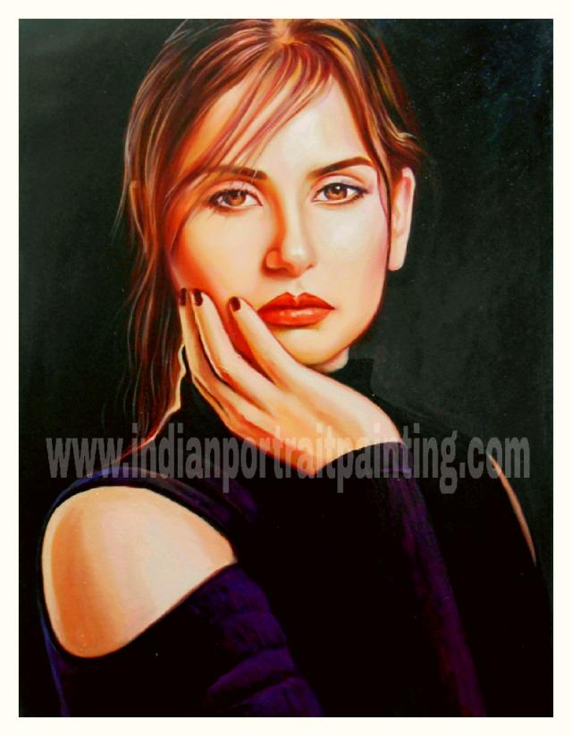 Customized portraits handmade online